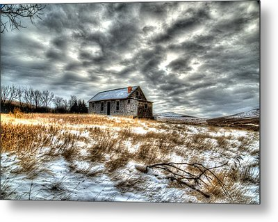 Metal Print featuring the photograph Homestead by Kevin Bone