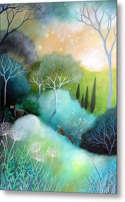 Homeward Metal Print by Amanda Clark