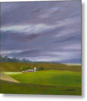 Metal Print featuring the painting Homeward Bound Right by Jo Appleby