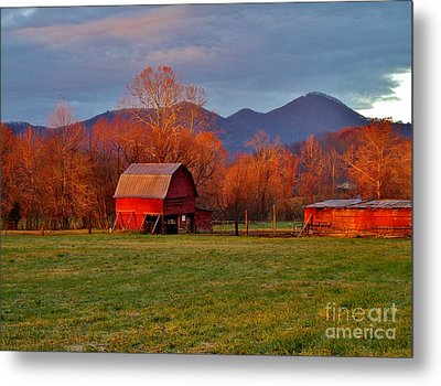 Hominy Valley Mornin' Metal Print by Hominy Valley Photography