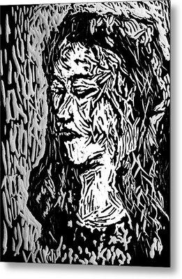 Homoface #11 Metal Print