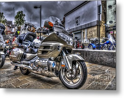 Honda Goldwing 2 Metal Print