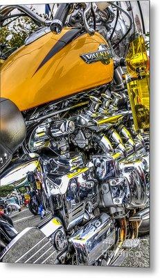 Honda Valkyrie 3 Metal Print by Steve Purnell