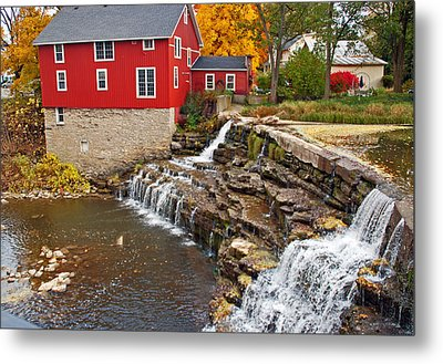 Honeoye Falls 1 Metal Print by Aimee L Maher Photography and Art Visit ALMGallerydotcom