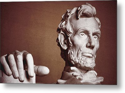 Honest Abe Metal Print by Jame Hayes