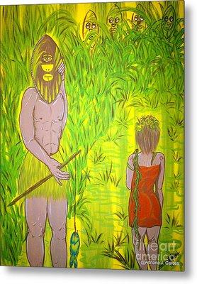Honey I Am Home Metal Print by Adriana Garces