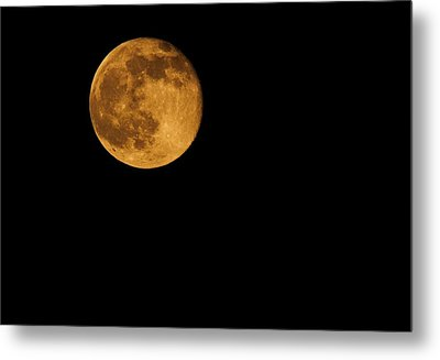 Honey Moon Full Moon 2014 Metal Print by Dan Sproul