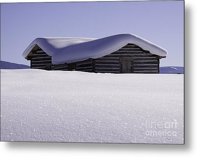 Honey Where Is The Snow Shovel? Metal Print