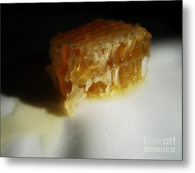Metal Print featuring the photograph Honeycomb by Kristine Nora