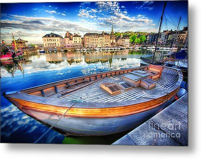Honfleur At Rest Metal Print by Jack Torcello