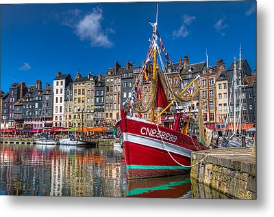 Metal Print featuring the photograph Honfleur Normandy by Tim Stanley