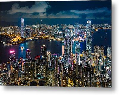Hong Kong 10 Metal Print by Tom Uhlenberg