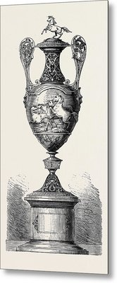 Hong Kong Races The Barristers Cup 1861 Metal Print