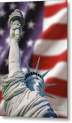 Honour Liberty And Freedom Metal Print