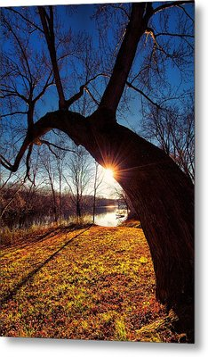 Metal Print featuring the photograph Hook Or Crook by Robert McCubbin