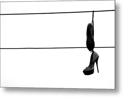 Hooked And Booked  Metal Print by Jerry Cordeiro