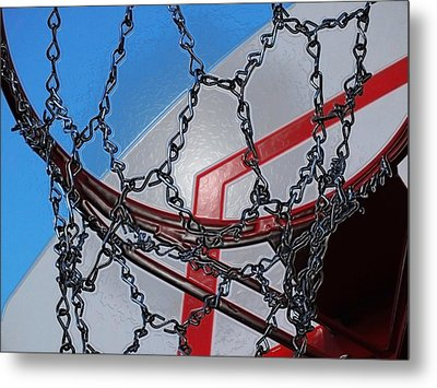Hoop Dreams Metal Print by Andy McAfee