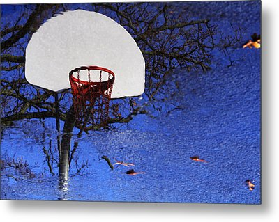 Hoop Dreams Metal Print by Jason Politte