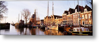Hoorn, Holland, Netherlands Metal Print by Panoramic Images