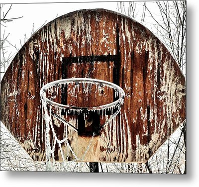 Hoosier Winter Metal Print by Benjamin Yeager
