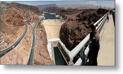 Metal Print featuring the photograph Hoover Dam II by Russell Smidt