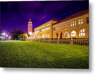 Hoover Tower Stanford University Metal Print by Scott McGuire