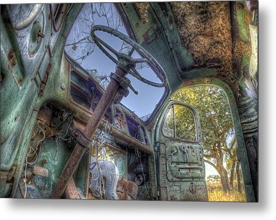 Hop In Metal Print