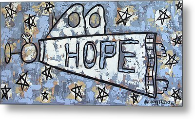 Hope Metal Print by Anthony Falbo