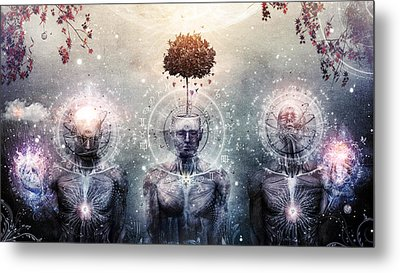 Hope For The Sound Awakening Metal Print by Cameron Gray