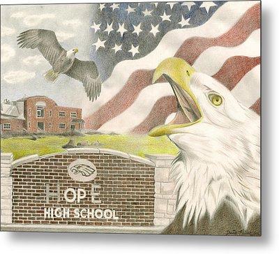 Hope High School Metal Print by Dustin Miller