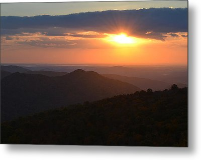 Metal Print featuring the photograph Hope Is Like The Sun by Melanie Moraga