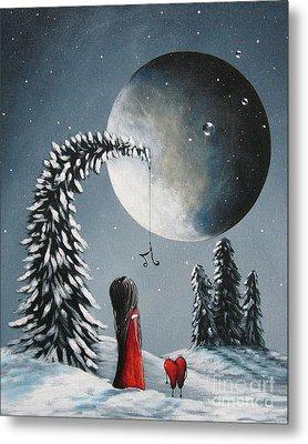 Hope Is On Her Way By Shawna Erback Metal Print by Shawna Erback