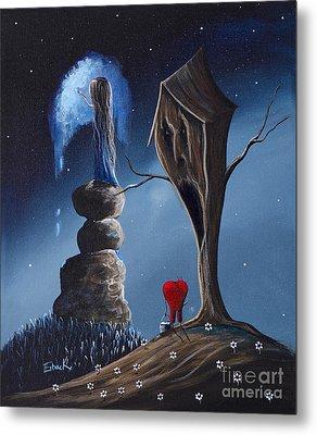Hope Still Lives Here By Shawna Erback Metal Print by Shawna Erback