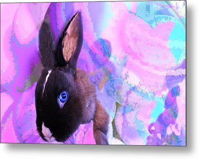 Hoppy Easter Metal Print