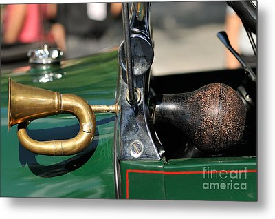 Horn On 1929 Ford A Metal Print by George Atsametakis