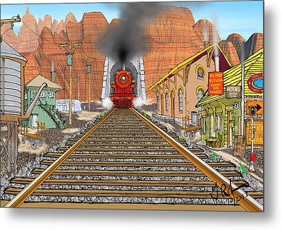 Horn's Junction Metal Print by Gerry Robins