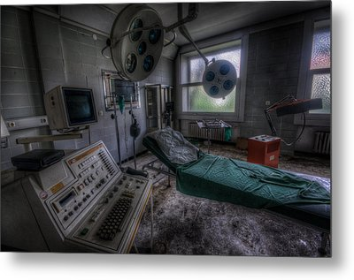 Horror Metal Print by Nathan Wright