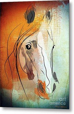Horse 3 Metal Print by Mark Ashkenazi
