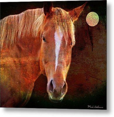 Horse 7 Metal Print by Mark Ashkenazi