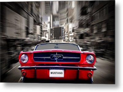 Horse Power Metal Print by Mark Rogan