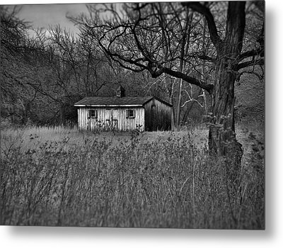 Horse Shed Metal Print by Robert Geary
