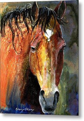 Horse Metal Print by Sherry Shipley