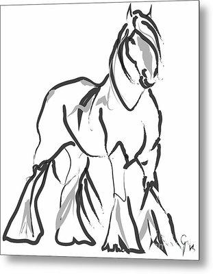 horse- Shire  Metal Print