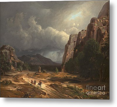 Horse Thief Metal Print by Celestial Images