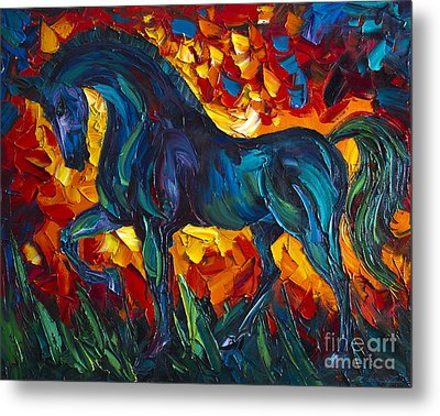 Horse Metal Print by Willson Lau