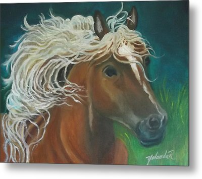 Horse Metal Print by Yolanda Rodriguez