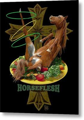 Horseflesh Metal Print