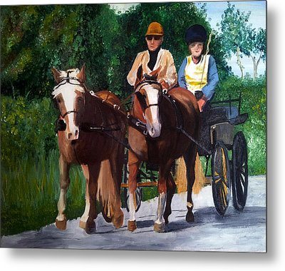 Sunday Afternoon Drive Metal Print