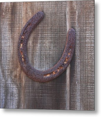 Horseshoe Metal Print by Art Block Collections