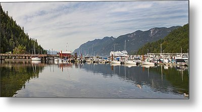 Metal Print featuring the photograph Horseshoe Bay Vancouver Bc Canada by JPLDesigns